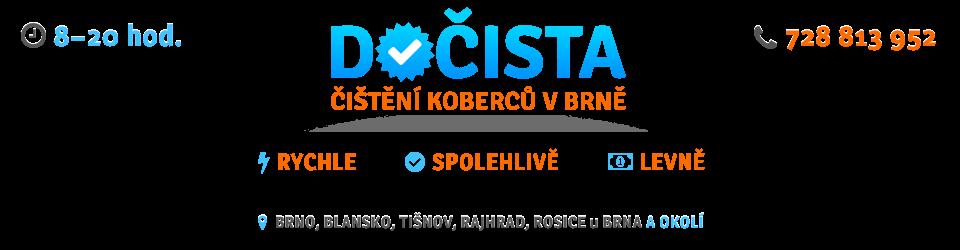 Čištění koberců DOČISTA Brno